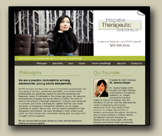 Click to view websites for therapists sample